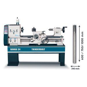 Buy lathe Machine- BANKA 34 Thunderbolt - All Gear Lathe Machine