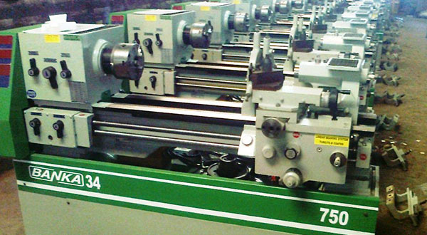 Stock of Banka Lathe