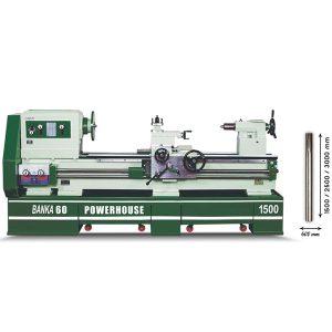 BANKA 60 POWERHOUSE - All Gear Lathe Machine