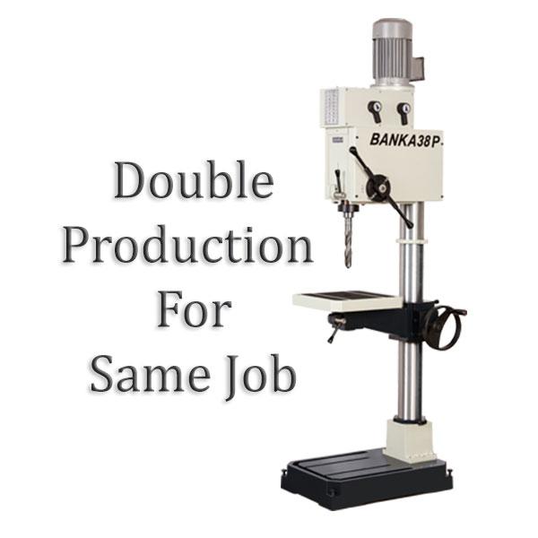 pillar drill for mass production