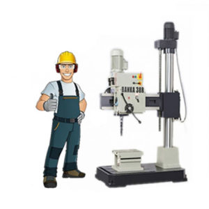 38R ArmStrong Radial Drill Machine