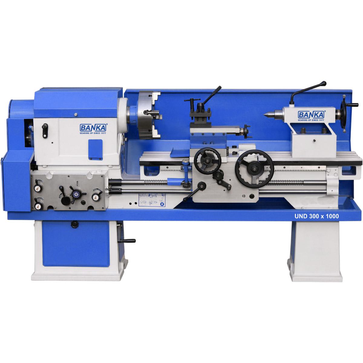 Medium Duty Lathe Machines - Cone Pulley Lathe - Lathe ...