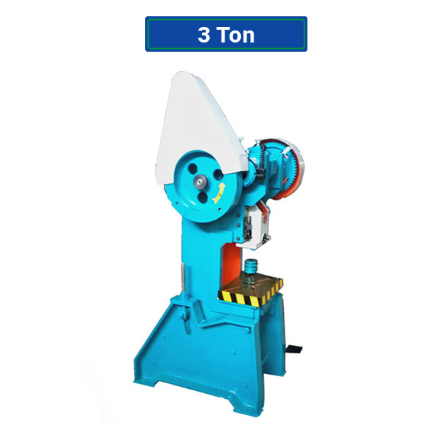 Power Press Machine 3 Ton - Punching - Hard Material Blow - Clump Machine -  Forging Presses - Stamping Presses